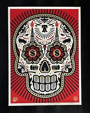 Shepard Fairey DAY OF THE DEAD POWER & GLORY Print/Poster OBEY GIANT Signed/#d
