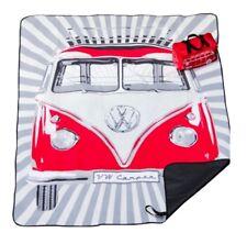 Official Volkswagen Merchandise T1 Campervan Picnic Blanket Red ZGB508E718 040