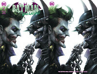 Batman Who Laughs 6 Francesco Mattina Trade Minimal Set Of 2 Variant Joker
