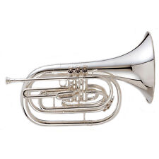 King 1122SP Ultimate Marching French Horn Silver Plated