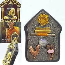 Thai amulet Phra Khun Paen Prai Mea Bua Thong Golden Lotus Kruba Na Mahsaney
