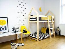Drewniane łóżko dziecięce Talo D6 90x180cm