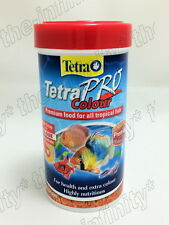 Tetra Pro Colour Fish Food multi crisp color concentrate genuine 250ml 55g