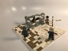 Lego ww2 Russian Factory Ambush Battle Scene Made With Real Lego(R)