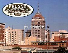 California - FRESNO - Travel Souvenir Fridge Magnet