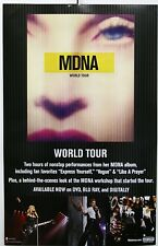 Madonna Mdna World Tour Official Interscope Poster 14x22 2013