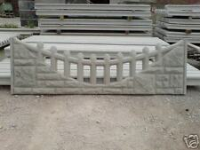 Concrete gravel boards / fence posts