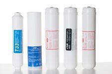 Kit Filtri per impianto depurazione acqua depuratore osmosi inversa a 6 stadi