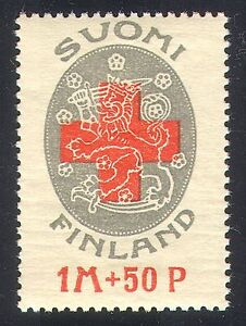 Finland 1922 Red Cross Fund/Health/Welfare/Medical/Animation 1v (n40962)