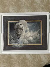 Bradford Exchange Vanishing Treasures #1 White Lightning Tiger Plate 1888A