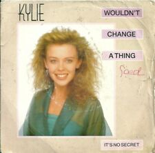 "KYLIE MINOGUE - WOULDN'T CHANGE A THING - 1989 7"" VINYL PS PWL"