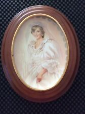"The Bradford Exchange ""The People's Princess"" By Jean Monti Framed"