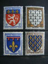 FRANCE neufs n° 572 à 575 (1943)