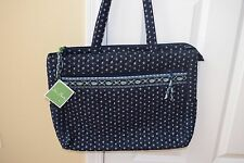 Vera Bradley, Seaport Navy, Metropolitan Tote Luggage Travel Shoulder NWT!