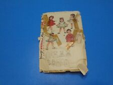 "Vtg 1950s Simplicity Sewing Pattern 3728 Wardrobe for Toni Doll & Other 19"" Doll"