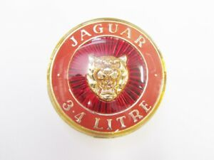 Jaguar 3.4 Litre Grille Badge