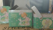 Precious Moments tin w/ handles ,Some Bunny Loves You, Easter