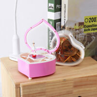 Heart Music Box Dancing Ballet Classical Crafts Xmas Ornaments Toy Birthday Gift