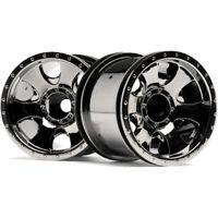 HPI 105280 Warlock Wheel Black Chrome 2.2 inch (2)