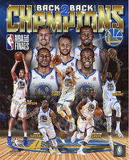 Golden State Warriors 2018 NBA Finals Champions Team Composite 8x10 Photo