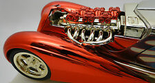 Dragster 1930s Ford Race Car Drag Hot Rod Concept 24 1 18 Carousel Red Model