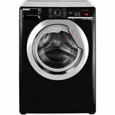 Hoover DXOA410C3B 10kg 1400 Spin Washing Machine - Black/Chrome