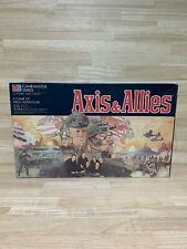 Vtg. 1987 AXIS & ALLIES  Spring 1942  World at War Board Game Appears Complete!