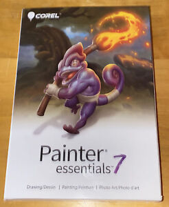Corel Painter Essentials 7 Drawing Painting Digital Photo Art Software PC or MAC