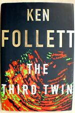 THE THIRD TWIN Ken Follett stated 1st Edition 1996 Mystery Hardcover & Jacket