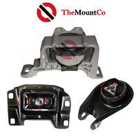 LH/RH & Rear Auto/Manual Engine Mount Set 3 Pcs To Suits Mazda3 04-09 2.3L Motor