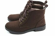 Women's Rocket Dog size 7 Lace Up Knit Temecula Brown Ankle Combat Boots NEW