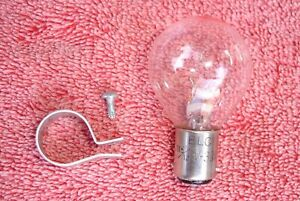 # Penncrest Super 8 Film Editor Viewer Replacement Lamp Bulb Light Part & Clamp