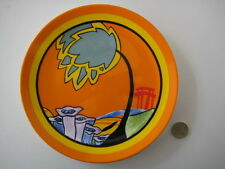 WEDGWOOD CLARICE CLIFF MONSOON ART DECO DESIGN LIMITED EDITION PLATE CERTIFICATE