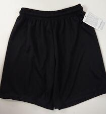 Flynn and O'Hara School Uniform Gym Athletic Mesh Shorts BLACK YS YOUTH MED