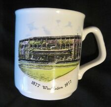 WIMBELDON 1877-1977 Commemorative Ceramic Mug Made In  ENGLAND TAMS RARE