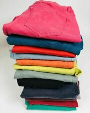 Soft Touch Coloured Skinny Jeans Pink Grey Teal Blue Black Red Yellow 4 Lengths