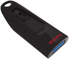 SanDisk Ultra 128 GB USB Flash Drive USB 3.0 100 MB/s Password Protect Black