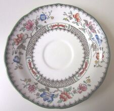"""COPELAND SPODE CHINESE ROSE SAUCERS 5 1/2"""""""