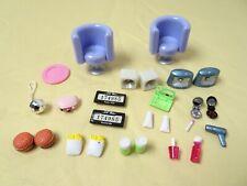 Bratz lil bus accessories chair food speaker makeup license plate fries pop lot