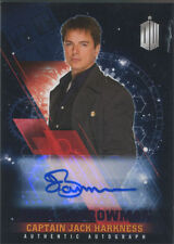 Doctor Who Timeless Autograph Card John Barrowman as Jack Harkness Purple #10/25