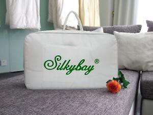 100/% A-gd Silk Filled Comforter Duvet Queen Light
