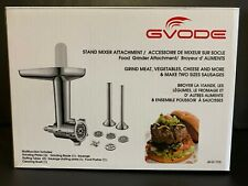 Food Meat Grinder Attachment for Kitchen Aid Stand Mixers with Sausage Stuffer