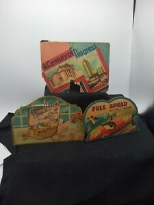 """Vintage Advertising Sewing Needle Books  Lot of 3 """"RARE""""."""