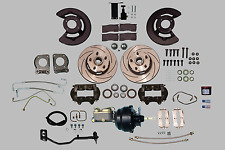 Performance 67-69 power assisted KH Ford MT Mustang 5 lug disc brake kit