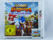 Sonic Boom: Der zerbrochene Kristall für Nintendo 3DS/2DS - OVP - Sehr gut