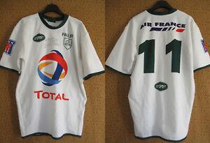 Maillot Rugby section paloise SP Pau dedicacé Total Porté #11 Vintage Shirt - XL