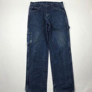 Bulwark PEJ8DW4 Men Excel 5 Pocket Flame Resistant Jeans sz 34x37 Actual 33x33.5