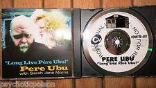 Pere Ubu with Sarah Jane Morris-long live Père Ubu! PROMO-CD Cook CD 497