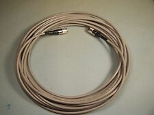 RG-8X COAX CABLE JUMPER 60 FT SEALED PL-259s USA MADE PROFESSIONAL CB HAM RADIO