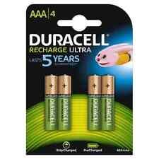 DURACELL Recharge Ultra AAA Blister 4 Mini Stilo Ricaricabili NiMH 850mAh 1.2 V